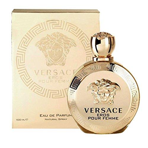 Versacė Eros Pour Femme For Women Eau de Parfum Spray 3.4 Oz/ 100ml