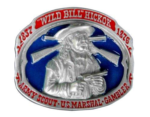 Wild Bill Hickock Novelty Belt Buckle