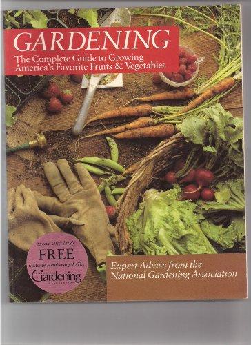 National gardening association u s author profile for National gardening association