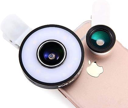 AcObj Clips cámara 3 Efectos 1 Flash para Smartphone/iPhone ...