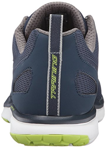 Skechers Sport Mens Quick Shift Knit Tr Training Sneaker Navy / Lime