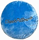Cheekpillow (Blue) therapy, travel, work, place on you main pillow.
