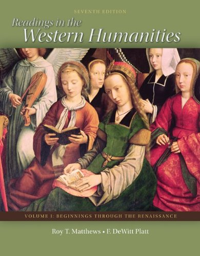 Readings in the Western Humanities