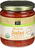 365 Everyday Value, Organic Medium Salsa - Thick & Chunky, 16 oz