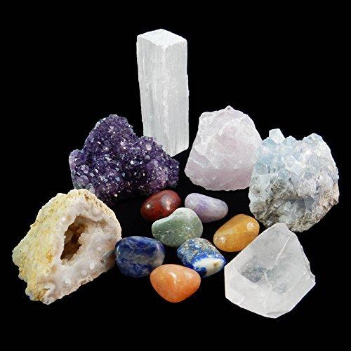 Quartz Crystal Stone Set - 4