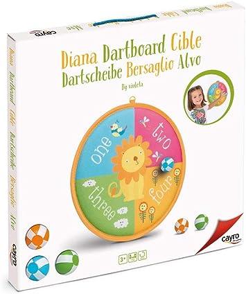Cayro - Diana con Pelota León - Juego de Habilidad y puntería - Juego Infantil - Desarrollo de Habilidades cognitivas y corporales - Juego de Mesa (116): Amazon.es: Juguetes y juegos