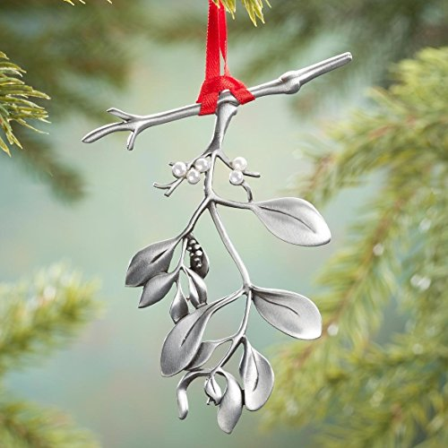 Cathedral Art CO625 Mistletoe Ornament, 3-Inch