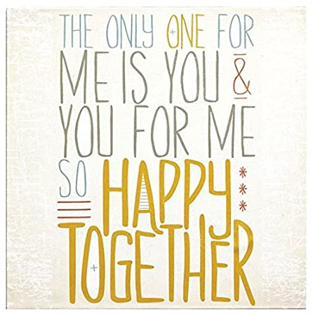 Lyricology the Turtles Happy Together Canvas Wall Art Picture, Song ...