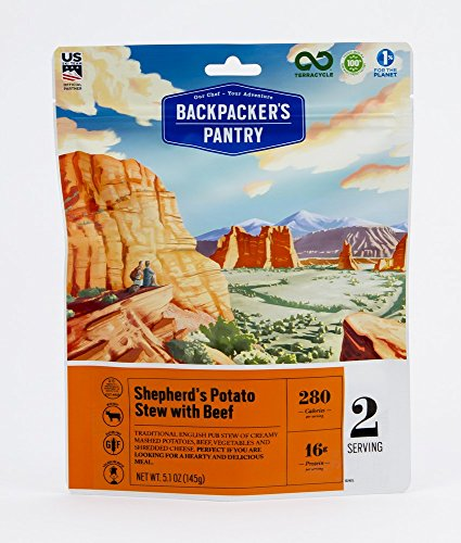 Backpacker's Pantry Shepherd's Potato Stew with Beef, Two Serving Pouch, (Packaging May Vary) (Pantry Backpackers)