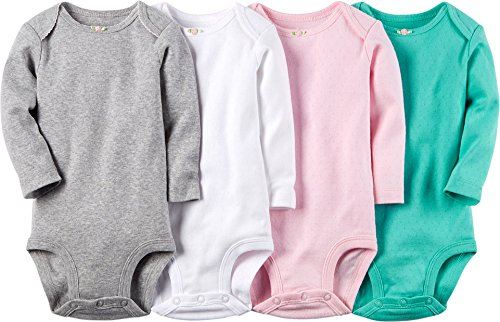 Carters Baby Girls Pointelle Bodysuits
