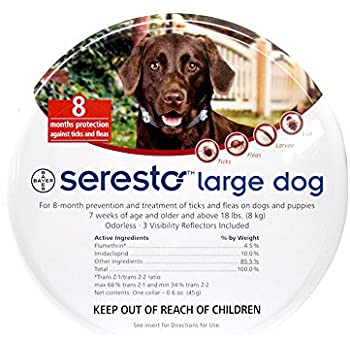Bayer Seresto Flea And Tick Collar Large Dog  Pack
