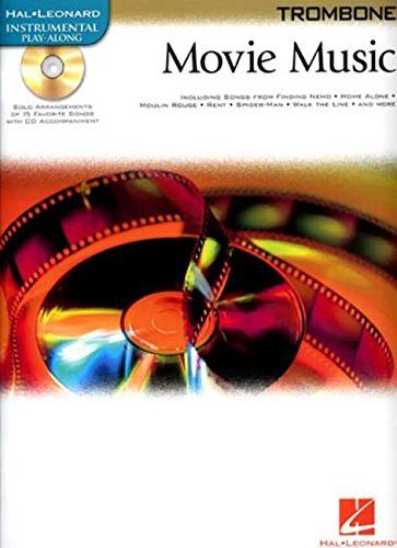 Movie Music: Trombone (Hal Leonard Instrumental Play-along) - Hal Leonard Jazz Trombone