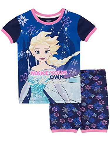 Disney Girls' Frozen Pajamas Size 5 Blue (Frozen Pjs 5t)