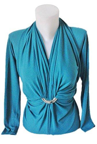 Evolustyle -  Cardigan  - Donna turchese Turquoise Taglia unica