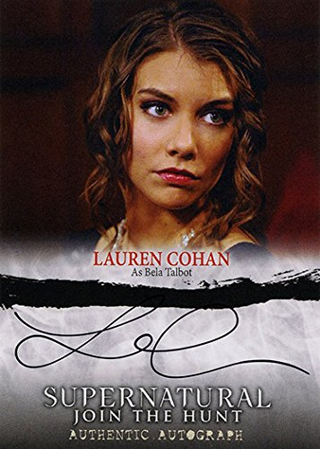 Maggie The Walking Dead Costume (Supernatural Seasons 1-3: Join the Hunt Autograph #A06 Lauren Cohan as Bela Talbot (Cryptozoic) Trading Card)