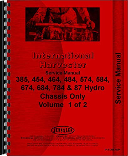 - International Harvester 684 Tractor Service Manual (1977-1984) (Chassis)