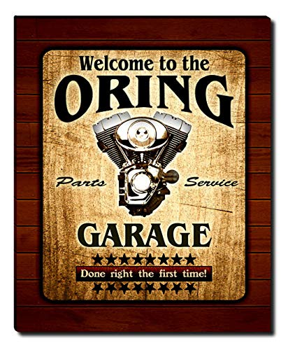 ZuWEE Oring Family Garage Gallery Wrapped Canvas Print