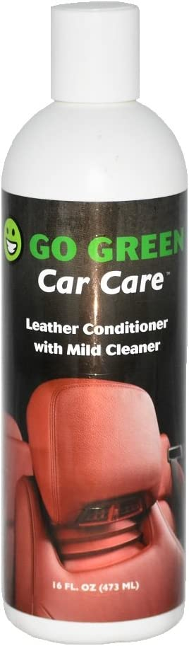 Go Green Leather Conditioner – Organic, 3 in 1 Leather Care, Cleans, Protects and Restores Your Leather, Unleash The Power of Coconut on Your Leather, Perfect for Auto Lovers, Kids and Pet Safe