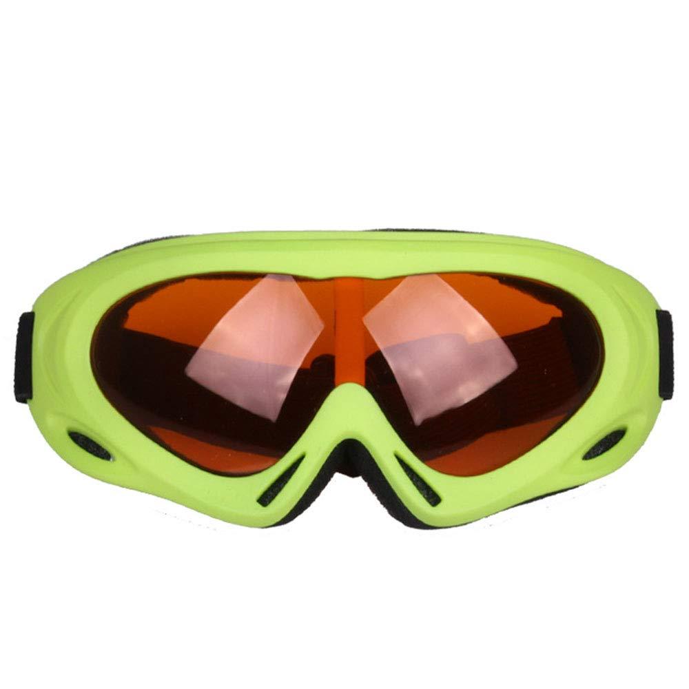 HVBYHF Einschichtige Skibrille, Brille Erwachsene Kinder Motorrad Winddicht Sand Brille Outdoor Sports Schlagfestigkeit