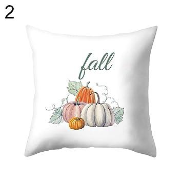 Amazon.com: Funda de cojín para decoración de Halloween, 18 ...