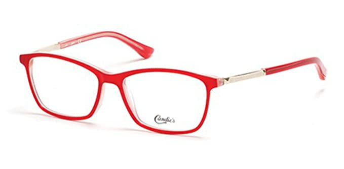 Eyeglasses Candies CA 0143 066 shiny red at Amazon Men\'s Clothing store: