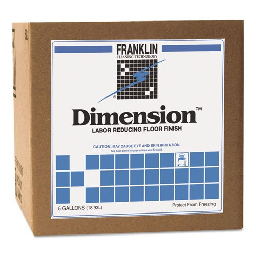 Gallon Floor Cube 5 Finish (FRKF330225 - Dimension Labor Reducing Floor Finish, 5gal Cube)