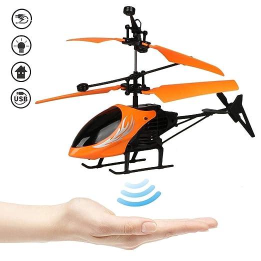 LayOPO helicóptero volador de control remoto, avión de inducción ...