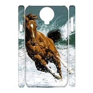 Diy Running Horse Phone Case for samsung galaxy s4 3D Shell Phone JFLIFE(TM) [Pattern-2] Kimberly Kurzendoerfer