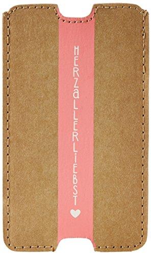 Adelheid Herzallerliebst Streifen Handyhülle Vl - Bolsa de Lona Mujer Einheitsgröße