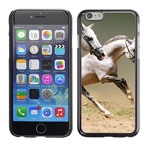 Premio Sottile Slim Cassa Custodia Case Cover Shell // V00003448 les chevaux // Apple iPhone 6 6S 6G PLUS 5.5""