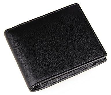 577eae272588 Polare Men's RFID Blocking Vintage Italian Genuine Leather Slim Bifold  Wallet Handmade