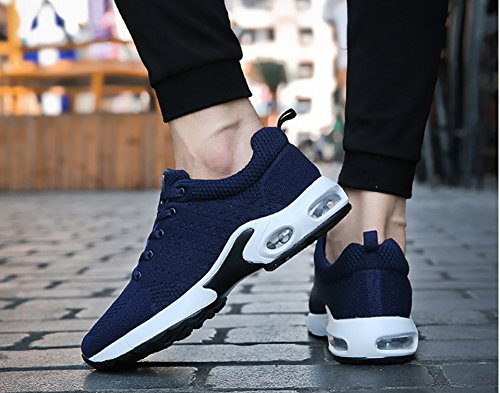 Flyknit Town Blue No Men's 66 Shoes Women's Sneakers Air Cushion Running Couple xp5qY51rn