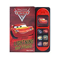 Join Lightning Mcqueen and his friends on the race track! Press buttons to hear 7 story sounds while you read! Hands-on interaction keeps young readers engaged as they enjoy a story encouraging problem-solving, creativity, and teamwork. This ...