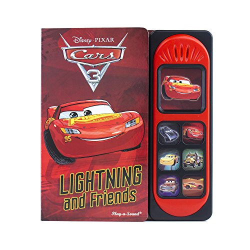 cars 3 little sound book lightning mcqueen