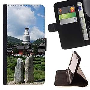 For Sony Xperia m55w Z3 Compact Mini - Nature /Funda de piel cubierta de la carpeta Foilo con cierre magn???¡¯????tico/ - Super Marley Shop -