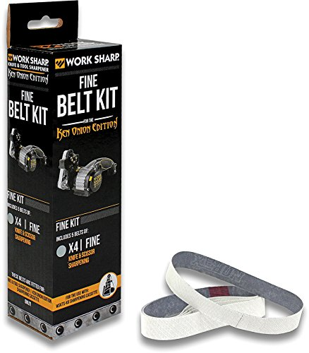 Work Sharp WSSAKO81120 Fine Grit Belt Kit