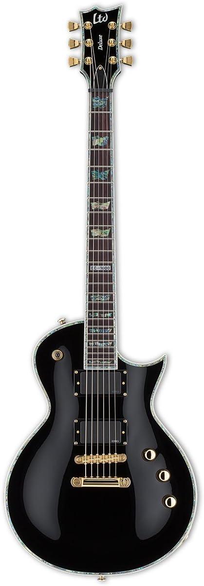 LTD Guitars & Basses EC-1000BLK EMG - Guitarra eléctrica