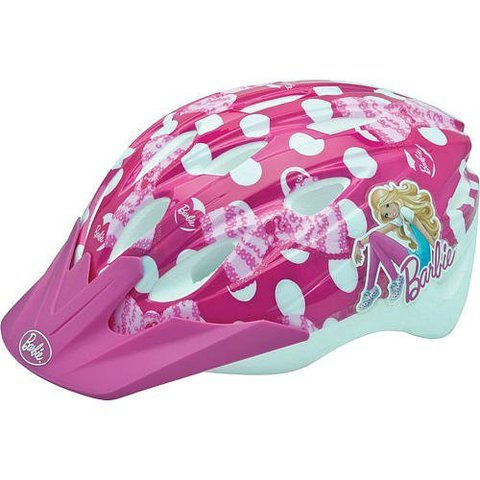 Game / Play Bell Barbie Pedalin' Pretty Child Helmet. Padded, Safe, Gear, Reflector, Protection Toy / Child / Kid by WE-R-KIDS