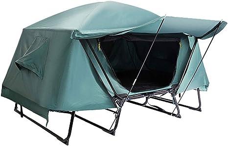 Zunruishop Tienda de Campaña Familiar para Carpa al Aire Libre cálida Fuera del Suelo Carpa al Aire Libre de Doble Capa a Prueba de Lluvia Camping Picnic Thickening Tent Tienda de Campaña: