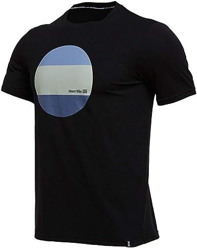 Camiseta Deportiva de Verano para Hombre Manga Corta Manga elástica Camisa Transpirable Transpirable Que Absorbe el Sudor y se Seca rápidamente.: Amazon.es: Ropa y accesorios
