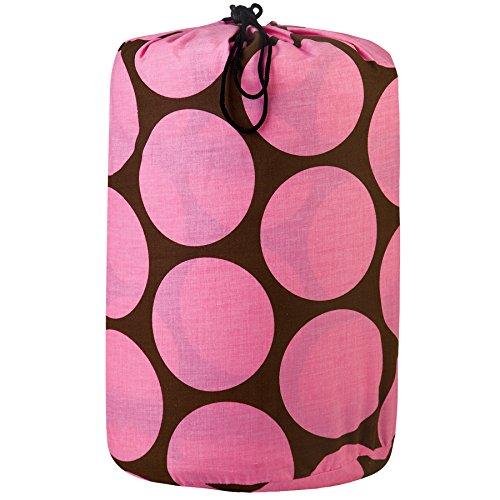 Wildkin Big Dots Pink Original Sleeping Bag
