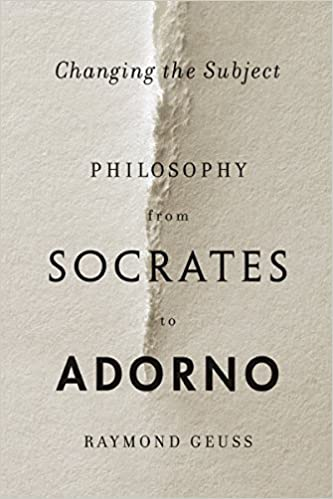 Changing the subject philosophy from socrates to adorno kindle changing the subject philosophy from socrates to adorno 1st edition kindle edition fandeluxe Gallery