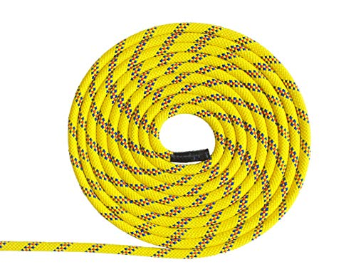 (Pelican Rope Multifilament Polypropylene Rope (7/16 inch) - Water Rescue Line, Lightweight, Buoyant, High Visibility, Floating Line (120 feet - Yellow))