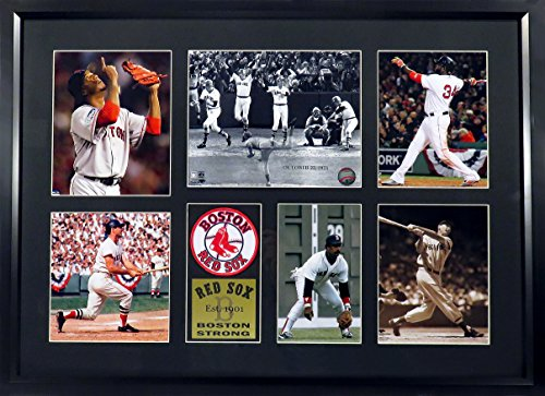 Boston-Red-Sox-Boston-Strong-Photo-Collage-Patch-Display-Feat-Ortiz-Williams-Yaz-Fisk-More-Framed