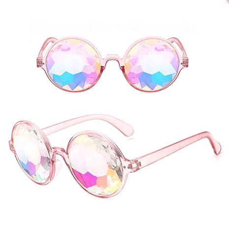 BONNIO - Gafas de esquí para caleidoscopio con Cristales para soldar y Proteger los Ojos,