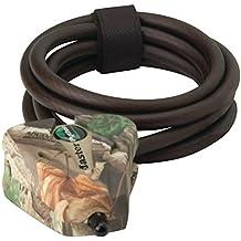 Master Lock 8418KADCAM-TMB Python Adjustable Locking Cable, Braided Steel, Camo Colored, 6-Feet x 5/16-inch