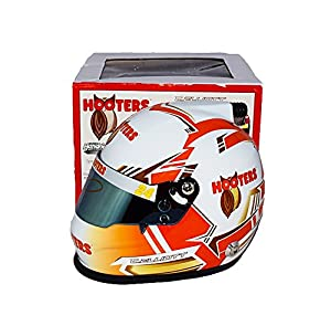 AUTOGRAPHED 2017 Chase Elliott #24 Hooters Racing Team (Hendrick Motorsports) Monster Energy Cup Series Signed Lionel NASCAR Replica Mini Helmet with COA from Trackside Autographs