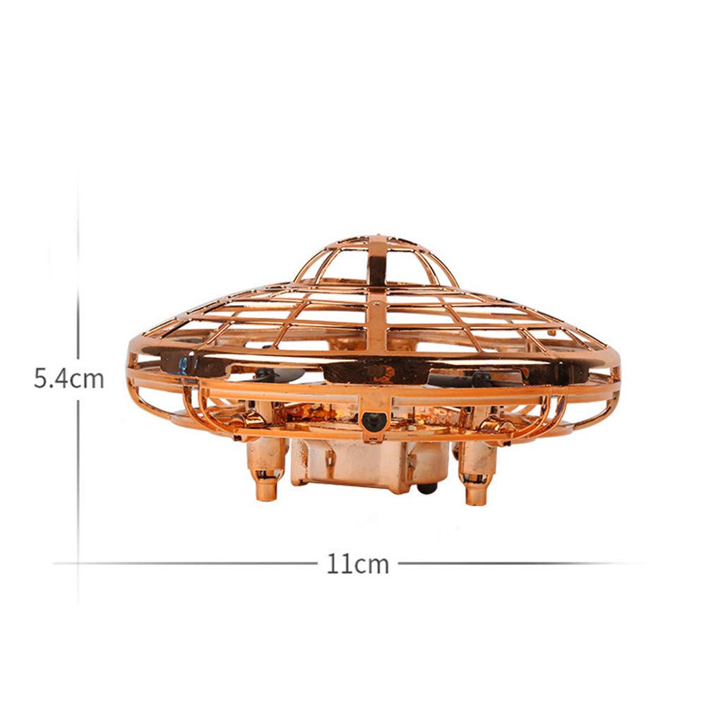 XINGXINGFAN Drone UFO Regalo de Juguete de Drone Volador Interactivo con Sensor infrarrojo