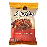 Mafer Premium Surtido Picante Especial (Spicy Mixed nuts) 2 Pack Bulk Deal red skin Peanuts and Pumpkin seed Naturally Fancy Mexican Snacks Appetizers Cacahuate Mani y pepita de calabaza