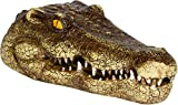 "Trademark Innovations 11"" Fake Alligator Head Pool Float Blue Heron Decoy for Ponds, and Water Features by"